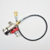 1.6 Feet 300bar DIN Hose Kit with monometer Filling station