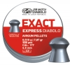 Diabolo Exact Express, cal .4,5 mm., box 500 pcs, weight 0,510 g, Muzzle velocity is 250 m/s if the power of airgun is set to 16J.